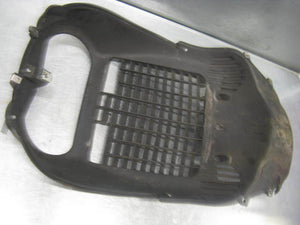 Piaggio Vespa BV500 BV 500 07 08 09 2009 Beverly Wheel Compartment Fairing Grill