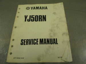 Yamaha OEM Service Manual 2001 YJ50RN Factory Repair Guide Handbook 01 YJ50 RN