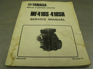 Yamaha OEM Service Manual MF410S Factory Repair Guide Handbook MF410 MF410SR