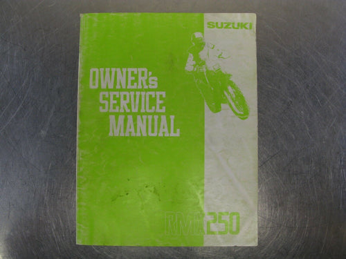 Suzuki RMX250 1991 91 Factory Owners Service Manual Guide Handbook OEM Genuine