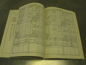 1981-1982 Kawasaki OEM Service Specifications Handbook Part #99926-1006-01