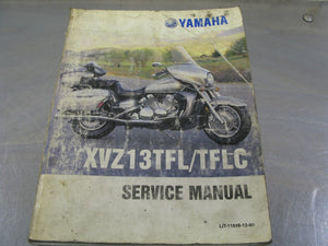 Yamaha OEM Service Manual 1998 XVZ13TFL Factory Repair Guide Handbook 98 XVZ13