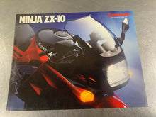 Suzuki 1988 ZX-10 Brochure Dealer Sales Literature 88 ZX10 ZX-1000B1