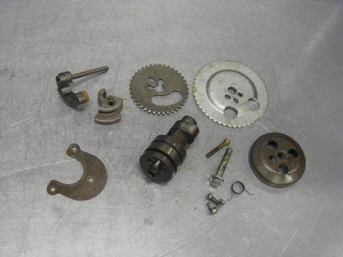Piaggio Vespa BV500 BV 500 09 2009 Beverly Cam Shaft + Gears + Advance Camshaft