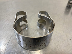 Ducati Exhaust Clamp Conti Pescara Italy R Parts Lot