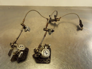1986 86 Kawasaki ZX600 Ninja ZX-600 K301 Front Brake Calipers and Lines Factory