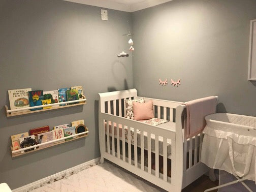 Stacey's Cloud 9 Baby Girl's Bedroom Reveal