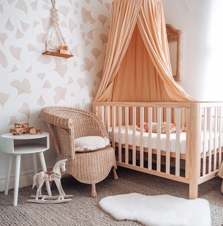 Natural 3 in 1 Modern Cot