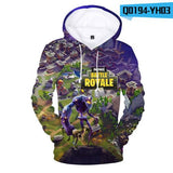 Fortnite 3D Hoodies Men Women Sweatshirt