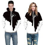 3d Milk Printing Men Women Hoodies Sweatshirts