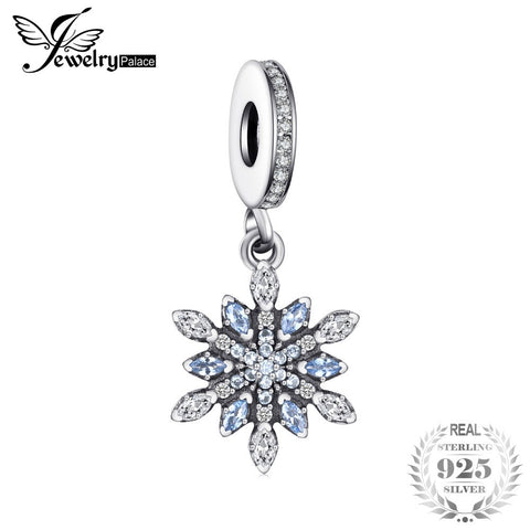 Jewelrypalace 925 Sterling Silver Froast Flower