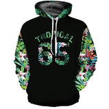 Mr.1991INC Space Galaxy Octopus Toucher 3d Hoodies
