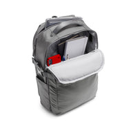 Speck Travel Business Backpack - Concrete Grey - Front Pocket View