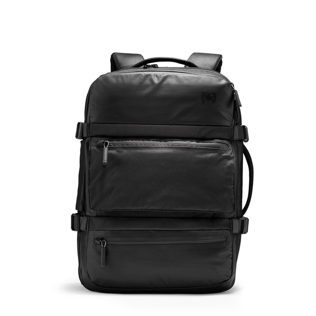 Speck Travel Travel Backpack - Black - Straight Front View