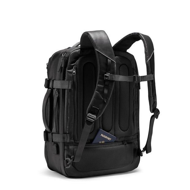 Speck Travel Travel Backpack - Black - Three Quarter Rear View