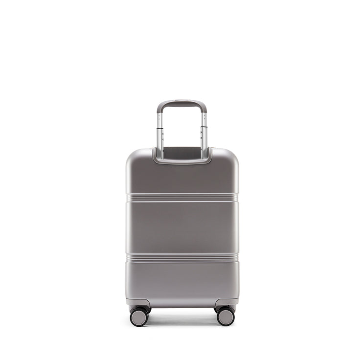 Speck Travel 22-inch Carry-On - Concrete Grey - Straight Back View