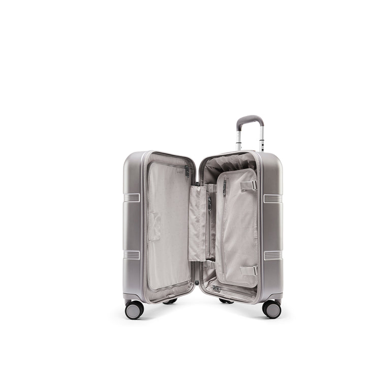 Speck Travel 22-inch Carry-On - Concrete Grey - Inside View