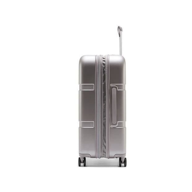 Speck Travel 26-inch Upright - Concrete Grey - Side View