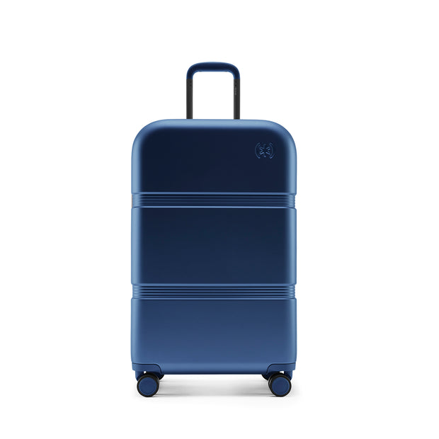 Speck Travel 26-inch Upright - Macaw Blue - Straight Front View