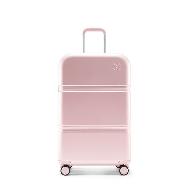 Speck Travel 26-inch Upright - Hyacinth Pink - Straight Front View