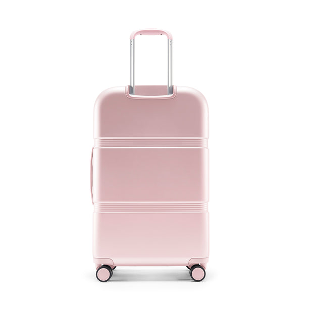 Speck Travel 26-inch Upright - Hyacinth Pink - Straight Back View