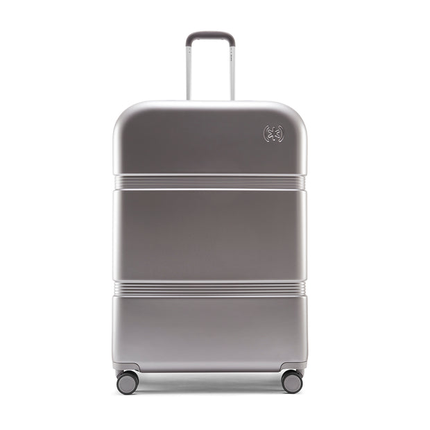 Speck Travel 29-inch Upright - Concrete Grey - Straight Front View