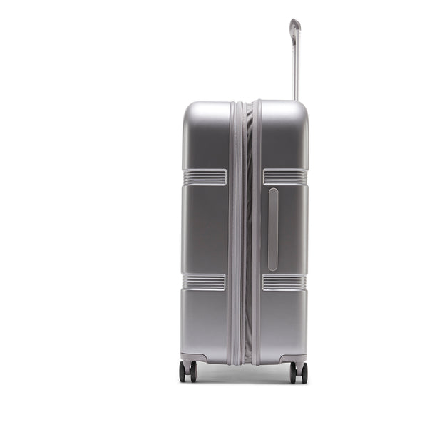 Speck Travel 29-inch Upright - Concrete Grey - Side View