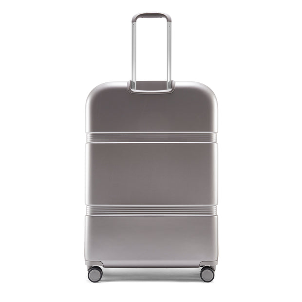 Speck Travel 29-inch Upright - Concrete Grey - Straight Back View