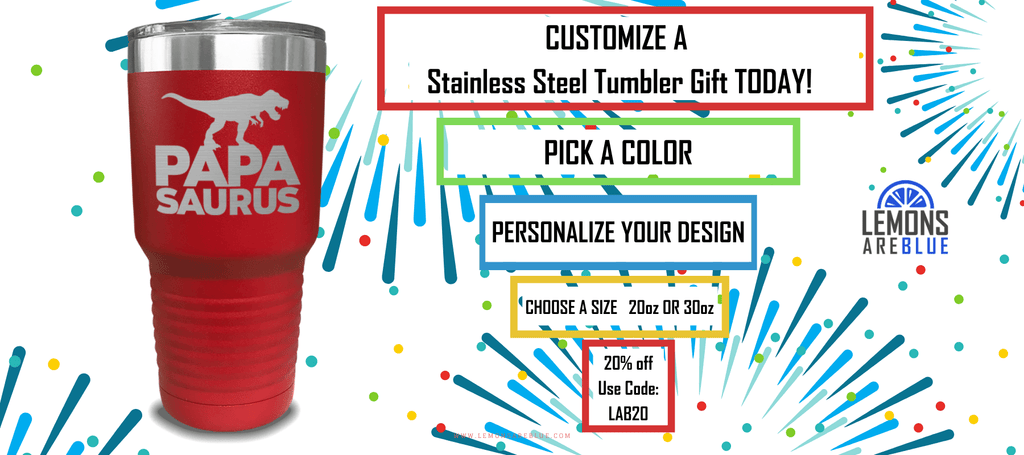 Why We Love Custom Stainless Steel Tumblers