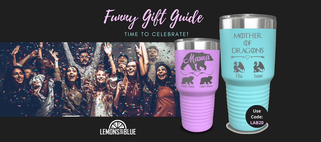 Lemons Are Blue - Funny Gifts Guide