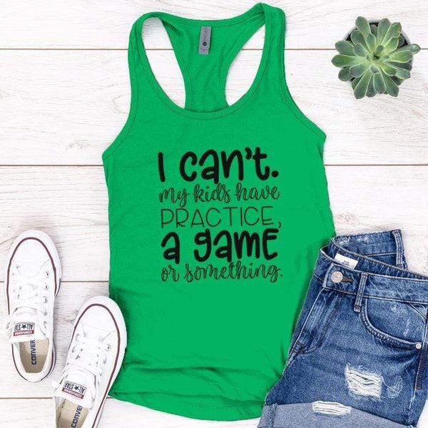 My Kids Have Something Premium Tank Tops Apparel Edge Kelly Green S