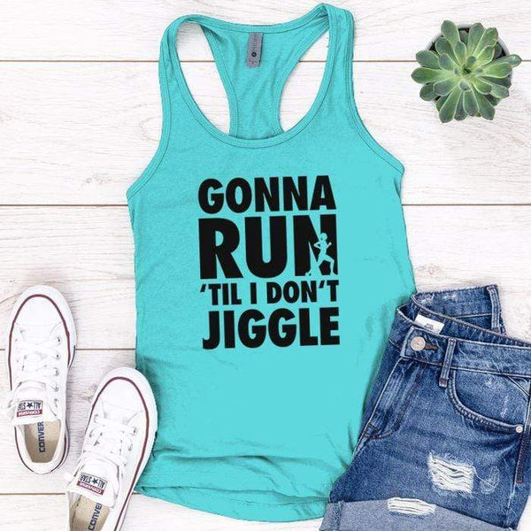 Gonna Run Premium Tank Tops Apparel Edge Tahiti Blue S