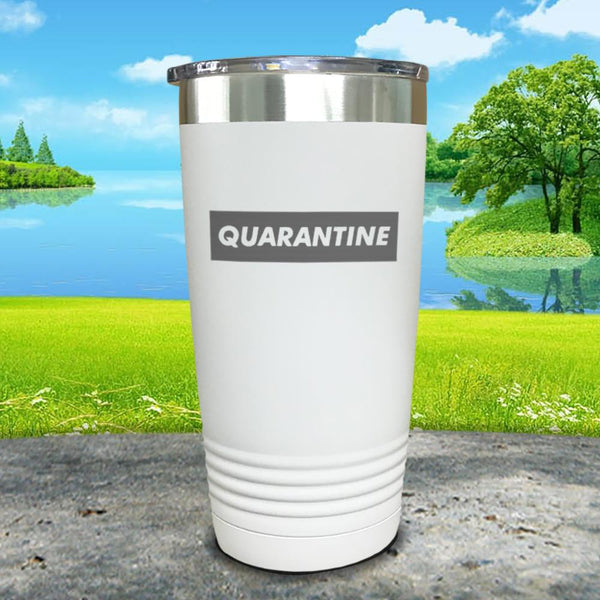 Quarantine Engraved Tumbler