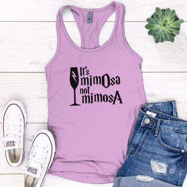 It's Mimosa Premium Tank Tops Apparel Edge Lilac S