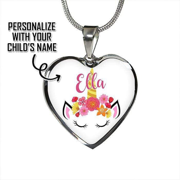 Custom Unicorn Premium Jewelry Jewelry Lemons Are Blue Luxury Necklace Silver