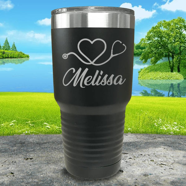 Nurse Love Personalized Engraved Tumbler
