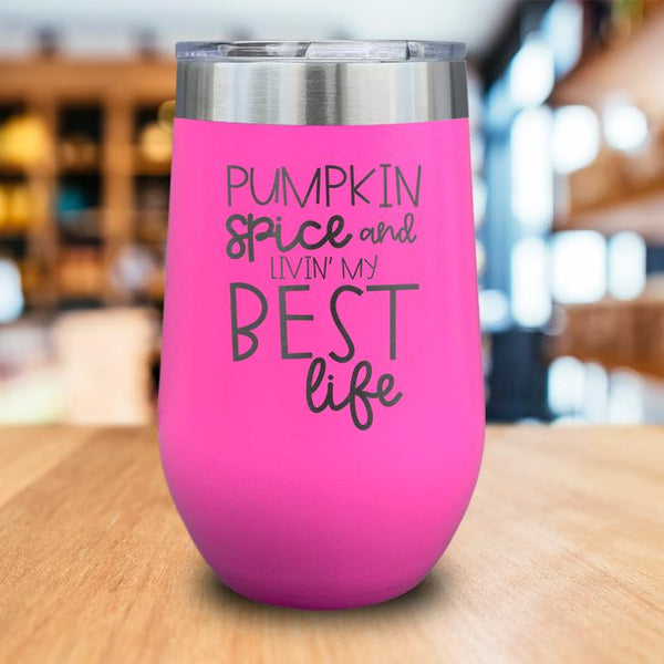 Best Life Engraved Wine Tumbler