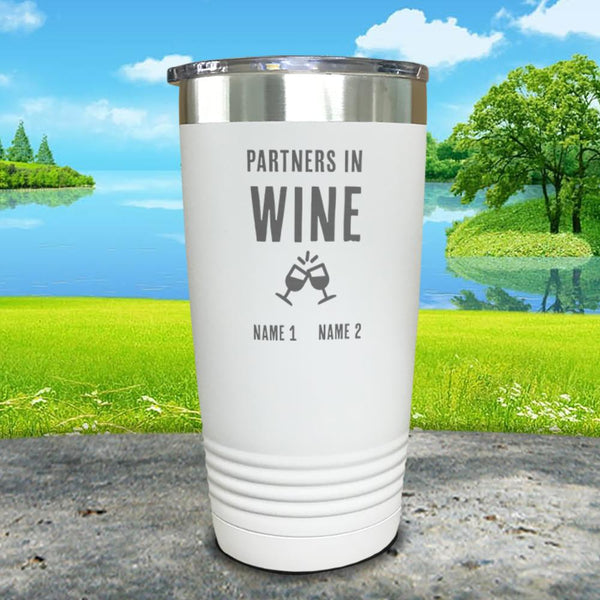 Partners In Wine Personalized Engraved Tumbler