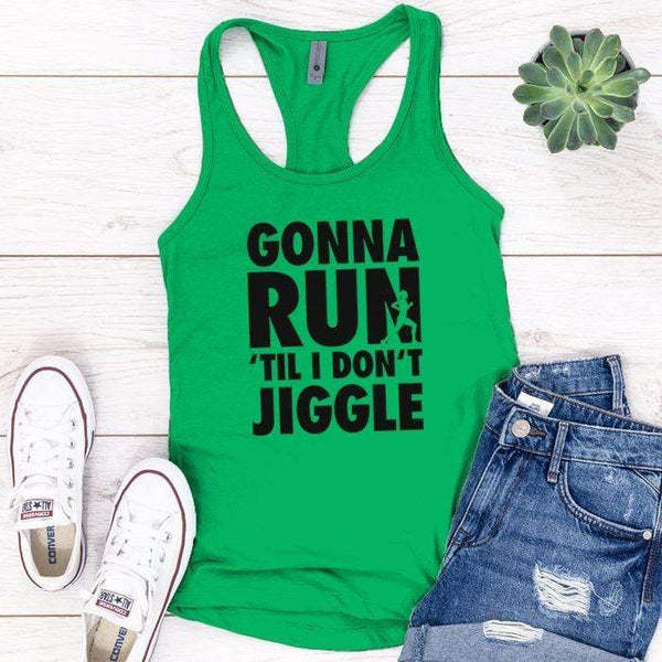 Gonna Run Premium Tank Tops Apparel Edge Kelly Green S