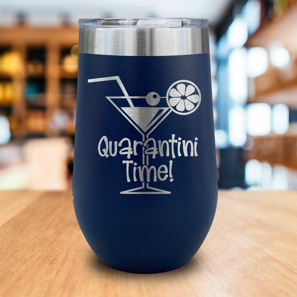 Quarantini Time Wine Tumbler