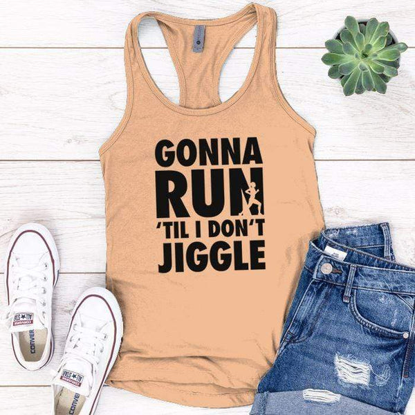 Gonna Run Premium Tank Tops Apparel Edge Light Orange S