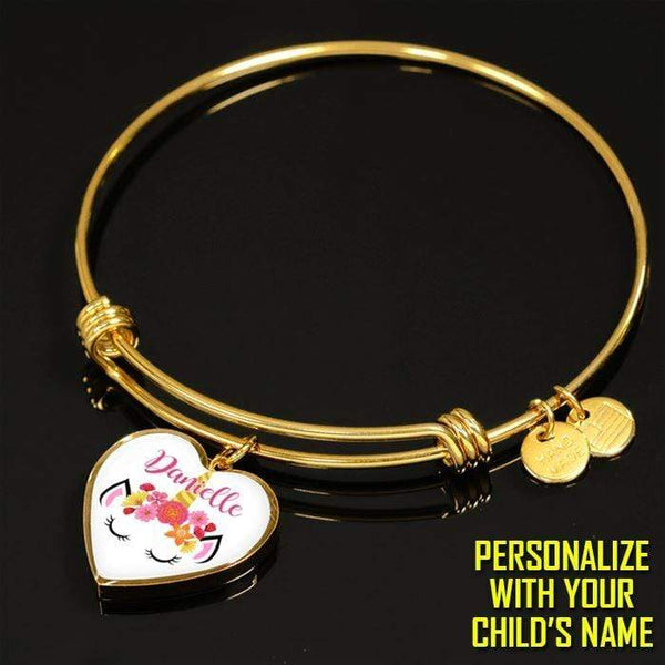 Custom Unicorn Premium Jewelry Jewelry Lemons Are Blue Luxury Bracelet Gold