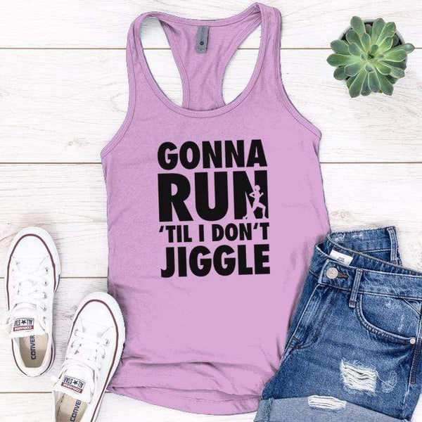 Gonna Run Premium Tank Tops Apparel Edge Lilac S