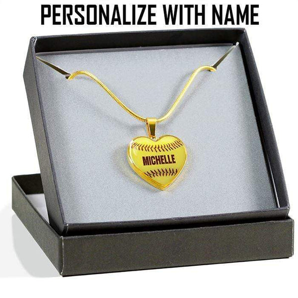 Personalized Softball Premium Necklaces & Bracelets Jewelry Lemons Are Blue Luxury Necklace Gold