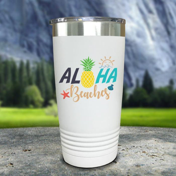Aloha Beaches Color Printed Tumblers Tumbler Nocturnal Coatings