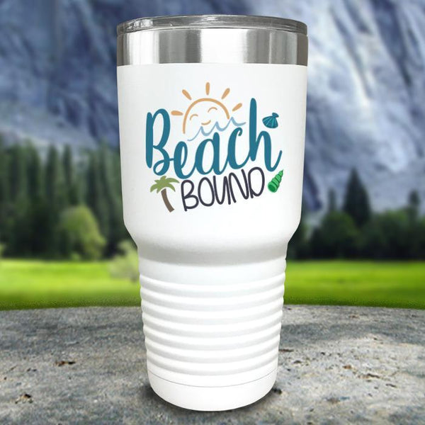 Beach Bound Color Printed Tumblers Tumbler Nocturnal Coatings