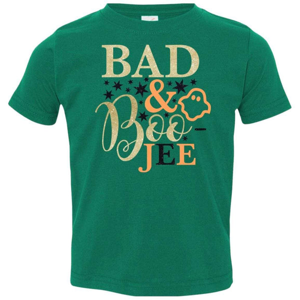 Bad and Boojee Toddler Shirt T-Shirts CustomCat Kelly 2T