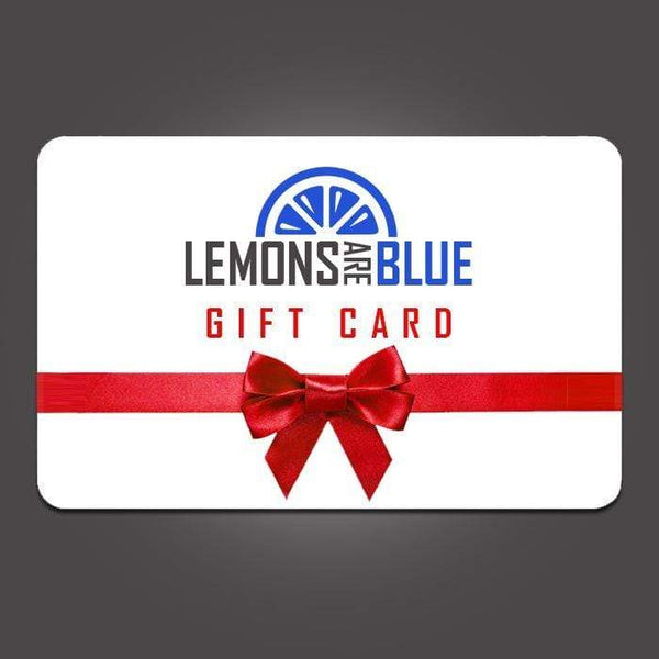Lemons Are Blue Gift Card Gift Card LemonsAreBlue 25.00