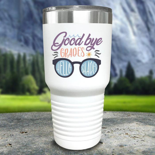 Goodbye Grades and Hello Shades Color Printed Tumblers Tumbler Nocturnal Coatings