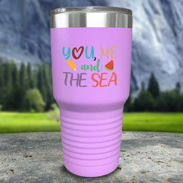 You Me and The Sea Color Printed Tumblers Tumbler Nocturnal Coatings